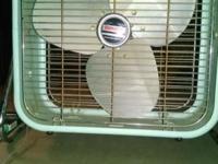 Very good working antique Airmaster metal floor fan