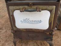 "ANTIQUE ""ALCAZAR"" OVEN! 140.00. We have bunches of"