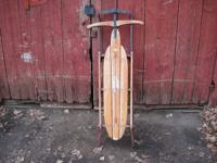 Antique sled for $25.  Please call .  I have no