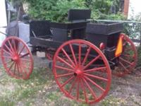 I purchased this buggy from Lancaster PA from an Amish