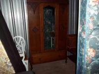 Antique armoire for sale. $1500.00