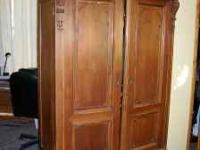 Beautiful antique armoire, auction appraisel