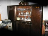 This is a beautiful and huge China Hutch from Germany,