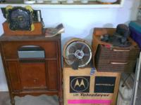 ANTIQUE ATWATER KENT RADIO CABINET NO ELECTRICS but