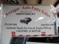 Antique Vehicle Parts May 3rd. 11:00 with 4:00. Annual