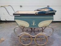 Antique baby carriage.  $25.  Call or text