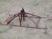 We have for sale, a working antique Bale Fork. Measures