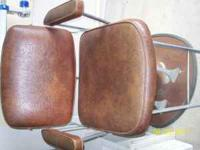 Antique Barber Chair -Good condition,hydralics work.