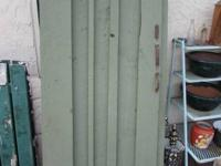 Antique barn door w/ hardware....can be delivered for