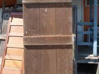 Antique Barn Doors, mostly oak in a variety of sizes.