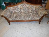 "Antique Couch Beautiful Measures 71"" Long, 33"" Tall and"
