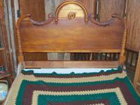 Antique bed $250.00  This item and more can be seen