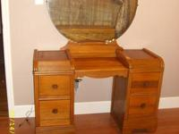 I have an antique bedroom set. Full size bed with