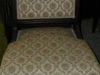 I have for sale a nice antique bedroom chair with small