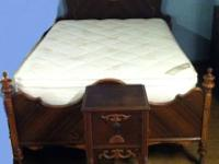 Beautiful bedroom set, OLD!!! In great shape for it's