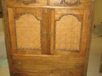 1920's Antique bedroom set includes dresser with a cane
