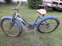 I HAVE A VINTAGE GOODYEAR HIWAY PATROL BICYCLE MADE BY