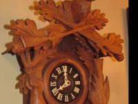 Antique Black Forest 8 day Cuckoo Clock in Perfect