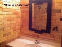 Bathroom /shower room done with northeastern white pine