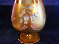 ** REDUCED **. This vintage hand repainted Moser