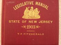 Up for sale is a rare hardcover 1903 State of New