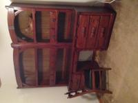 Antique Link Taylor Rawhide Series Book Case Six Drawer