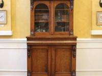 Large Victorian Mahogany bookcase imported from England