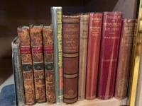 Antique Books, Christmas, Leather, First Editions and