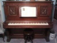 Bradbury Upright Concert Grand Piano..At about 125