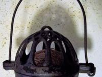 This antique string holder pre dates 1900. Around