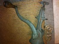 Antique Cast Iron Universal Food Chopper No. 2 Brevette