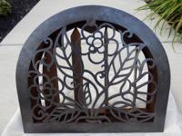 For Sale Beautiful Arch Top Cast Iron Wall Heat