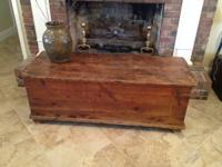 This antique chest is remarkable! Excellent character