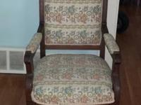 Beautiful antique chair.. $50.....text me