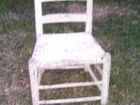 Hello. I have this antique chair I bought at an estate