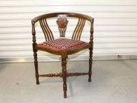 Beautiful antique chair bought in England. It's in