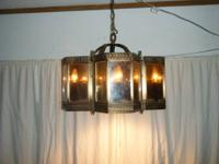 Antique Chandelier ... $60 obo  Magic Mirror Light by