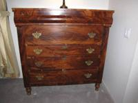 For sale is this lovely antique Victorian-Era Chest of