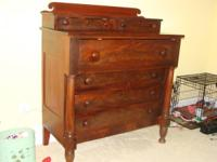 Antique Chest of Draws dated from 1830's. It has men's