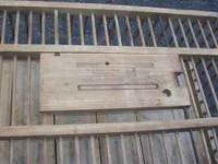 antique chicken/bird crate w.i. carpenter company