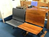 We have 2 antique Children's workdesk available, $75.00