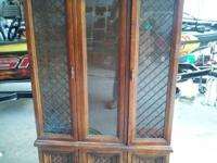 I have for sale an antique China Cabinet. It has been