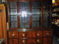 Gorgeous1920's Williams Kemp antique china cabinet