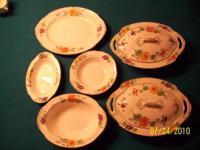 Antique China Dinner Set For Sale W.H.Grindley & Co.