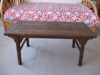 Antique Chinese Tea Coffee Table A simple and practical