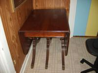 """have a antique claw foot diningroom table 5'5 x 38"""""""