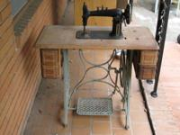 Antique CLIMAX Sewing Machine. Circa 1980s. Machine is