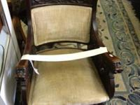 Antique Code of Arms Shaking Chair - all hand made