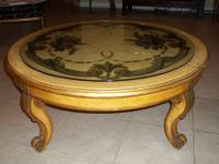 Coffee Table, unique, hand-painted, antique. - $500