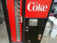 This is a WORKING Antique Coke Machine for sale. The